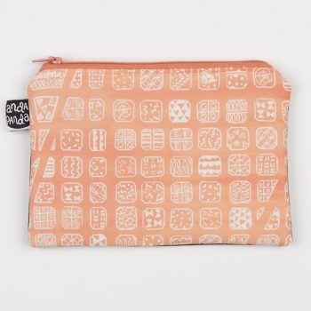 bcn map peach purse