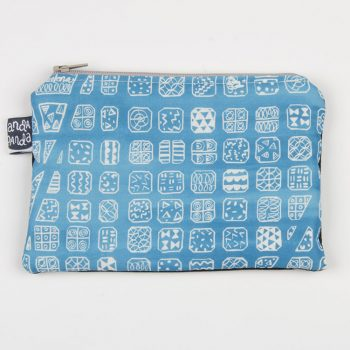 bcn map purse blue