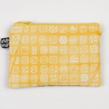 bcn map yellow purse