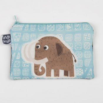 blue mammoth purse