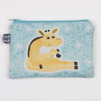giraffe purse turq