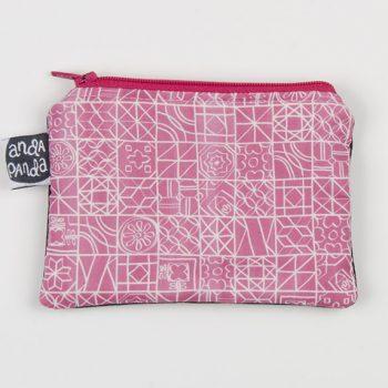 tiles pink purse
