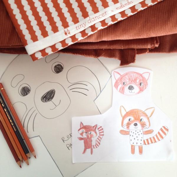 red panda wip